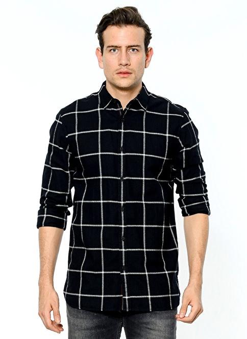 Tommy Hilfiger Kareli Gömlek Renkli